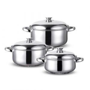 Batería Cocina Wens 6 Piezas 420-6SS