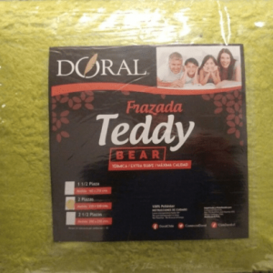 Frazada Teddy 1,5 Plaza