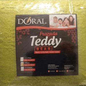 Frazada Teddy 1,5 Plaza