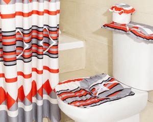 Set de Baño Embossed 6 piezas – Doral