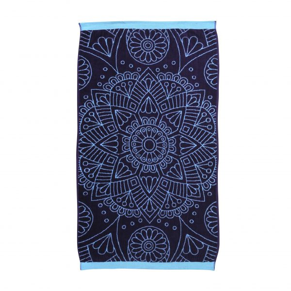 815712 T. Playa Jacquard 75x150 Simple Mandala DET1