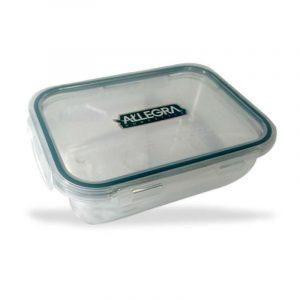 contenedor hermético de vidrio