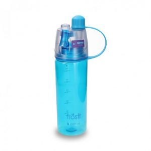botella tr spray 600ml azul