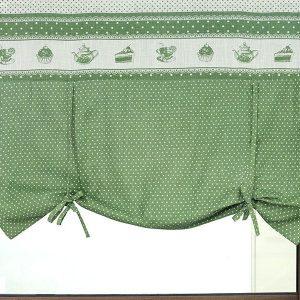cortina cocina store verde