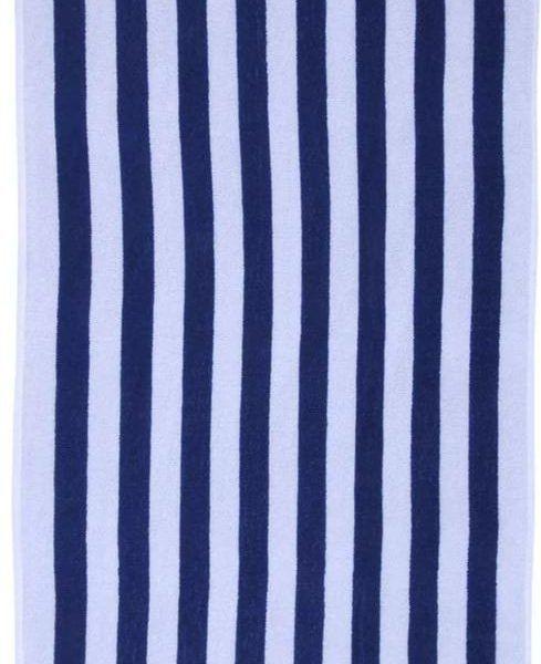 playa lineas azul