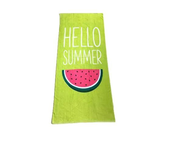 toalla verde hello summer