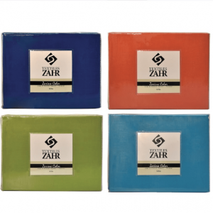 Juego Sábanas Zarina 144 Hilos Color – 1,5 Plaza – Zahr