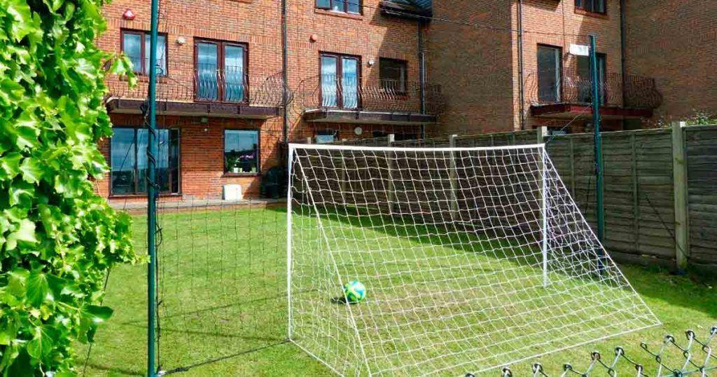 Aire libre Arco de Fútbol de niños